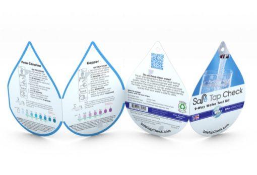 Juomavesitestipakkaus
